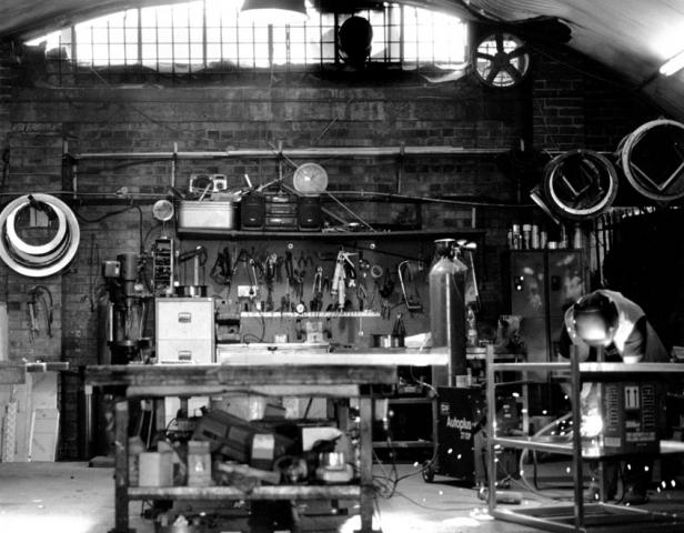 H.Abbey Metalworks, Bohemia Place, Hackney E8