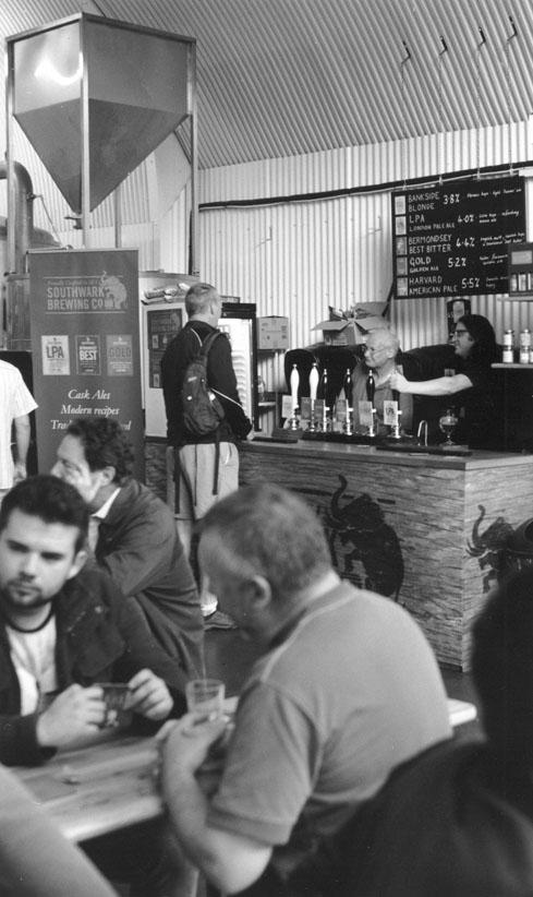 Southwark Brewery, Druid Street SE1