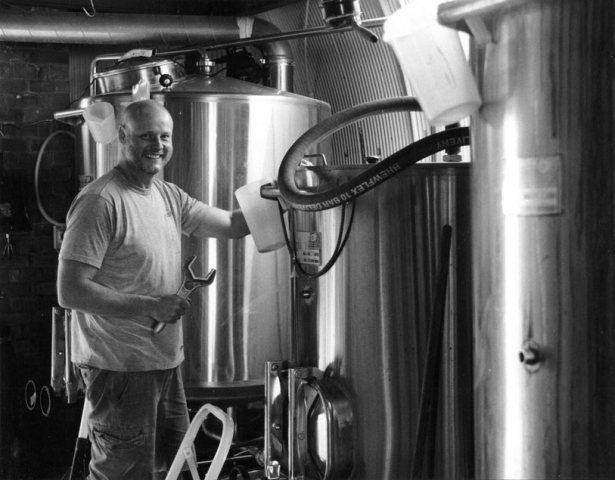 Ian, Brick Brewery, Peckham Rye SE15
