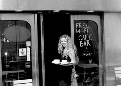 Café Girl, Loughborough Junction Station SE5