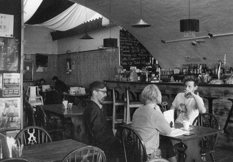 Bohemia Cafe, Mare Street, Hackney E8