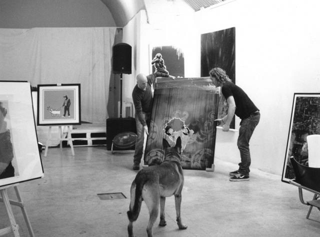 Lee, Sam & Henk, Underdog Gallery, Bermondsey SE1