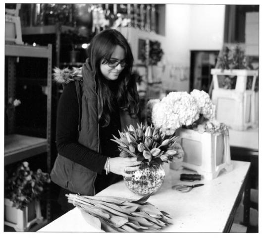 Rebecca, Laura Kuy Flowers, Joseph Street, Bow E3