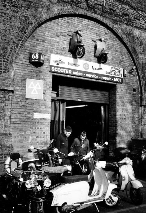 Scooterworks, Enid Street, SE16