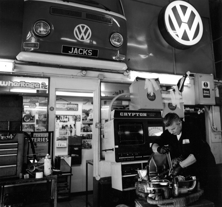 Vaidas, Jack's Garage, Kingsdown Close, Latimer Road W10