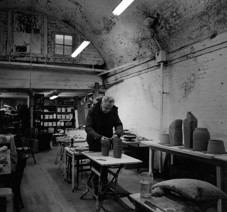 Nick the ceramicist, Cambridge Grove, Hammersmith W6