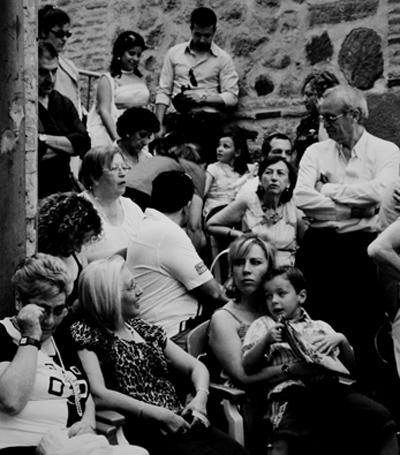 Corpus Cristi crowd, Toledo