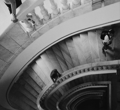Figures on the Stairs, Madrid