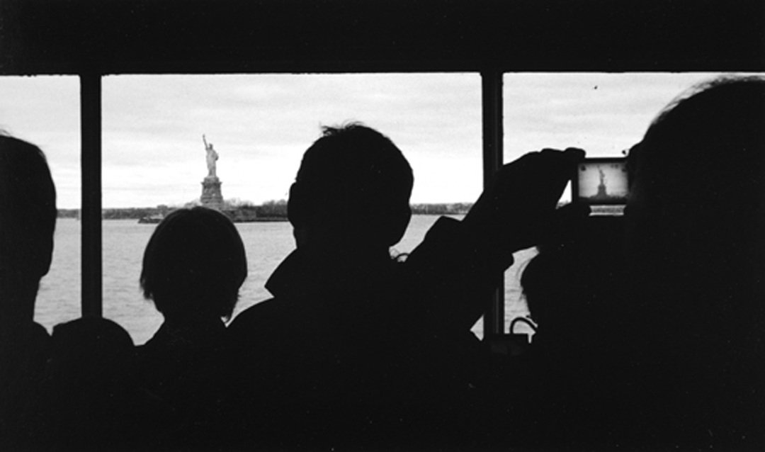 Lady Liberty, on film, also on digital