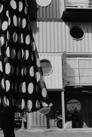 Polka Dots. Susan - Container City, E14.
