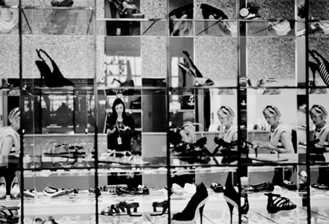 Shoes, shoes, shoes. T5 Heathrow