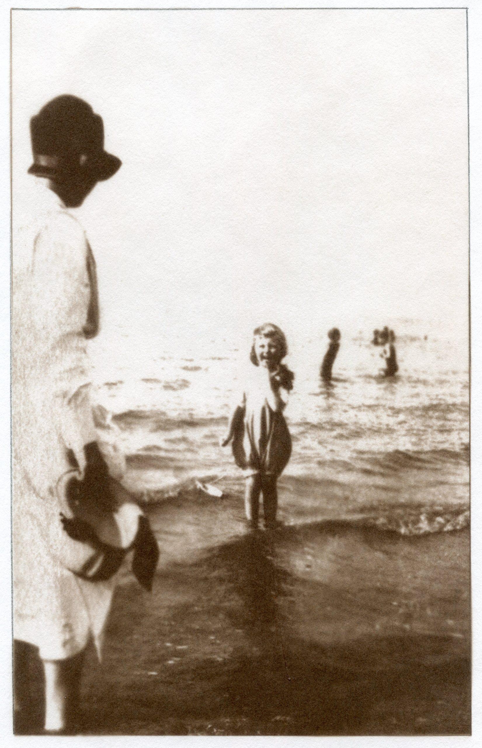 Van Dyke print: Bathers