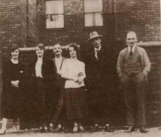 Van Dyke print: Xmas 1923