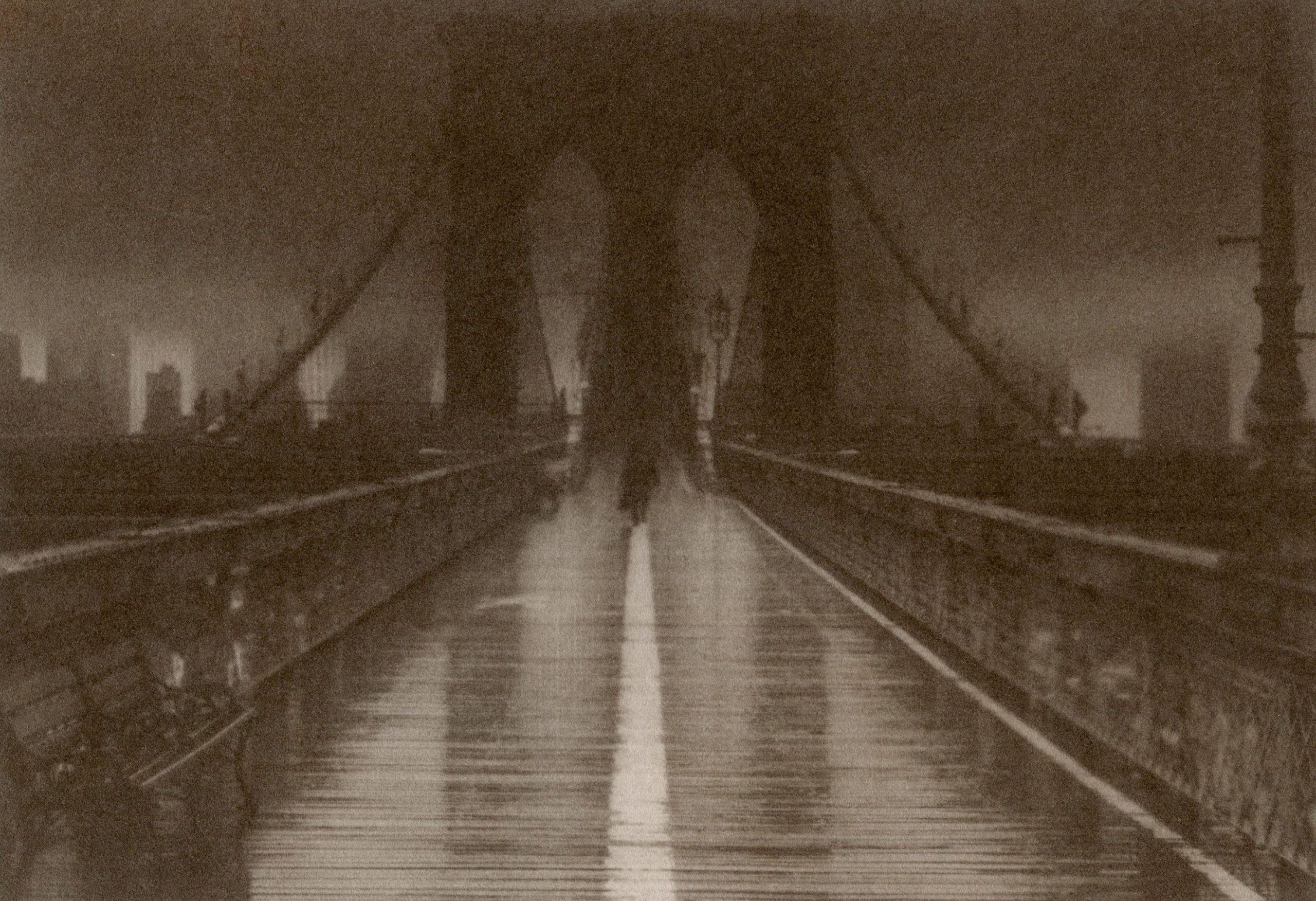 Van Dyke print: Manhattan Skyline